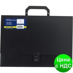Портфель пластиковый A4/35мм,, черный BM.3724-01