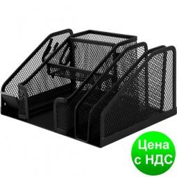Прибор настольный 210x150x100мм, металлический, черный BM.6241-01
