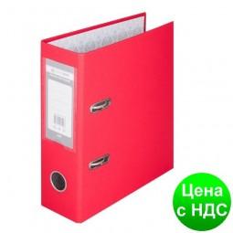 Регистратор одност. А5, 70мм PP, красный BM.3013-05