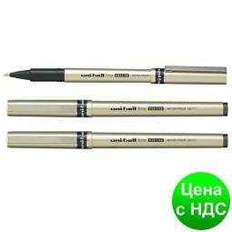 Роллер uni-ball fine DELUXE 0.7мм, черный UB-177.Black