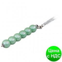 """Ручка шариковая """"Secret"""", с кристалами, зеленый, в подарочном футляре LS.401021-04"""