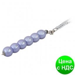 """Ручка шариковая """"Secret"""", с кристалами, фиолетовый, в подарочном футляре LS.401021-07"""