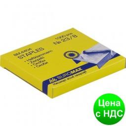 Скобы №23/8 1000шт., ЛЮКС BM.4404