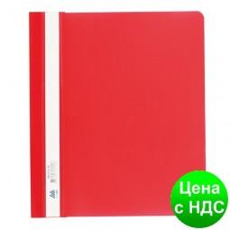 Скоросшиватель пласт. А5, PP, красный BM.3312-05