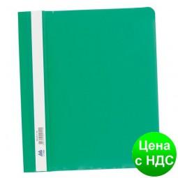 Скоросшиватель пласт. А5, PP, зеленый BM.3312-04