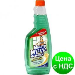 Средство чист. д/стекла профессионал Мистер Мускул змінна пляшка 500мл зеленый w.00160