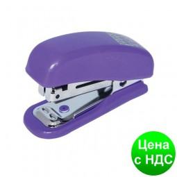 Степлер пластиковый Міні до 10листов (Скобы №10), фиолетовый BM.4125-07