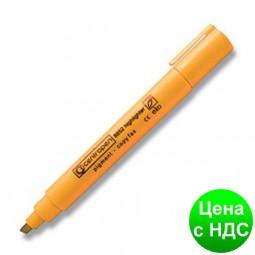 Текст-маркер флуор. Fax клинопод., 1-4,6мм., оранжевий 8852оранж.