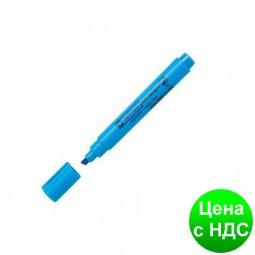 Текст-маркер флуор. Fax клинопод., 1-4,6мм., синий 8852син.