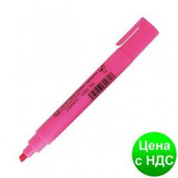 Текст-маркер флуор. Fax клинопод., 1-4,6мм., розовый 8852роз.