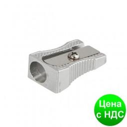 Точилка металлическая, клиноподобная, серебро BM.4730-24