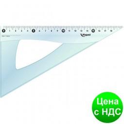 Треугольник ESSENTIALS, 60гр/210мм пластик, дисплей MP.146122
