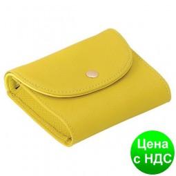 """Футляр для пластикових карт """"Stria"""" 10х7х2.8см, оливковий LS.820301-32"""