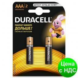 Элемент питания (батарейка) DURACELL LR3 (AAA) s.58170