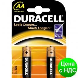 Элемент питания (батарейка) DURACELL LR6 (AA) s.58163
