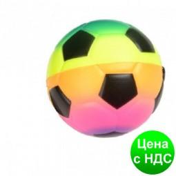 """Мяч-антистресс 116 """"Футбол"""" неон 7.5 см"""