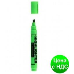 """Текстовыделитель """"Centropen"""" зеленый"""