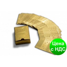 "Карты ""Евро-золото"" 100% пластик"