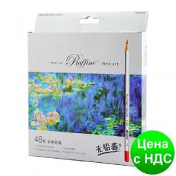 """Карандаши цветные """"MARCO"""" Raffine (48 цветов)"""