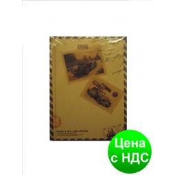 """Блокнот Y0010 (A6) """"Старые фото"""" в линию, твердая обложка (96 листов, 11.5*14.5 см.)"""