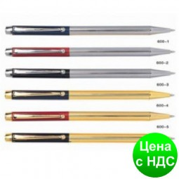 Ручка металлическая поворотная BAIXIN BP600 (золото/серебро)