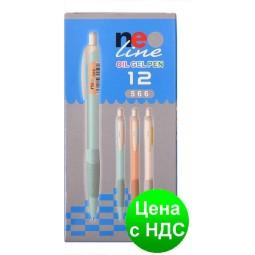Ручка гелевая масляная NeoLine черная