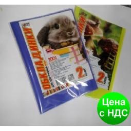 """№700 Обложка для учебников (200 мкм) 2 класс """"Люкс колор"""" 20-02"""