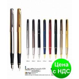 Ручка металлическая капиллярная BAIXIN RP978 (золото/серебро/серый)