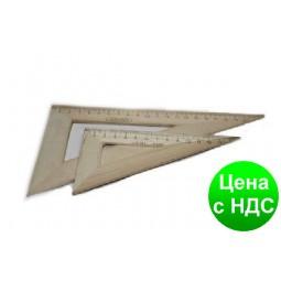 Треугольник деревянный 22 см. (60*30*90) ТД-22-603090
