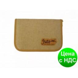 Пенал TIGER Jute (1 отделение, без наполнения) 1836E