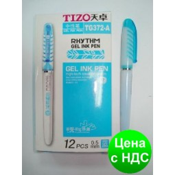 """Ручка гелевая """"Techjob"""" TG372-A Tizo Rhythm (синяя)"""
