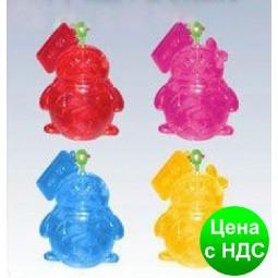 """Пазлы 3D кристальные """"Пингвин QQ mini"""""""