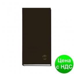 Книга алфавитная А6, 80листов,  100х190мм, баладек черный 210 05Ч