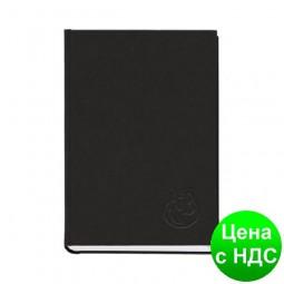 Книга алфавитная А5, 112листов,  145х201мм, баладек черный 211 05Ч