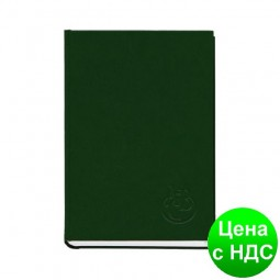 Книга алфавитная А5, 112листов,  145х201мм, баладек зеленый 211 05З