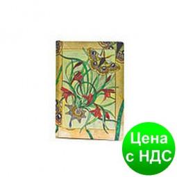 Блокнот A5 Art Collection WB-503 в клетку (с карманом)