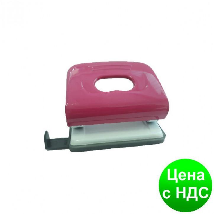 Дырокол на 16 л. DGG металлический корпус с линейкой, микс цветов (1/72) DG-316