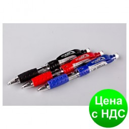 """Ручка шариковая автоматическая """"Techjob"""" TB218 Equip (3в1 - синий, красный+карандаш)"""