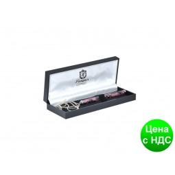 """Ручка шариковая """"Lace"""" с цепочкой 70см, розовый, в подарочном футляре LS.402027-10"""