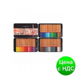 """Карандаши цветные """"MARCO"""" Renoir Fine Art в металлической коробке (100 цветов) 3100-100TN"""