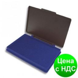 Подушка штемпельная, настольная KORES, размер 110х70 мм, синяя K71570