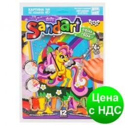 """Фреска из цветного песка """"Sand Art"""" Danko toys  (10)"""