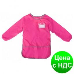 Фартук для детского творчества со спинкой, розовый CF61491-09