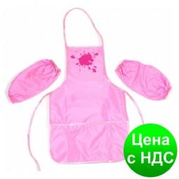 Фартук с нарукавниками, розовый CF61490-09