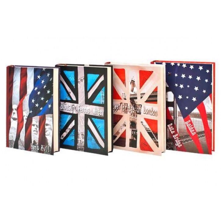 """Блокнот JGYC-321281-1087 (32K) """"Britain"""" в линию (128 листов)"""
