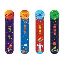 """Закладинки пластикові для книг """"Space"""" (4 шт.)"""