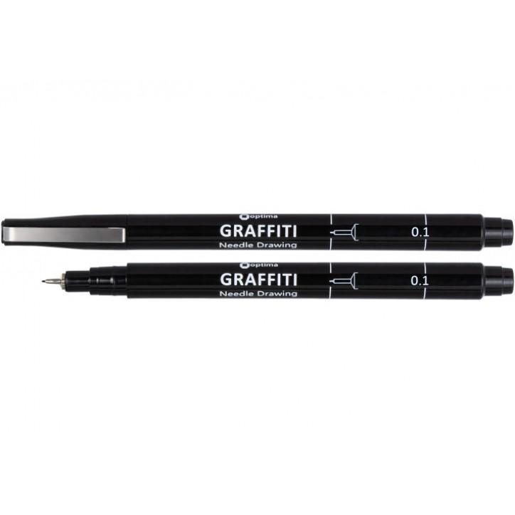 Лайнер Optima GRAFFITI, 0,1 мм