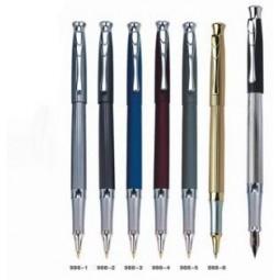 Ручка металлическая перьевая BAIXIN FP-988 (микс)