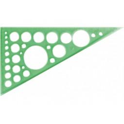 Трикутник 20 см. (60*90*30) з колами