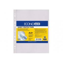 """Файл для документів А4+ Economix, 30 мкм, фактура """"глянець"""" (100 шт./уп.)"""